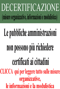 CLICCA  qui per leggere tutto sulle misure